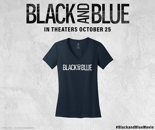 Black and Blue - T-Shirt