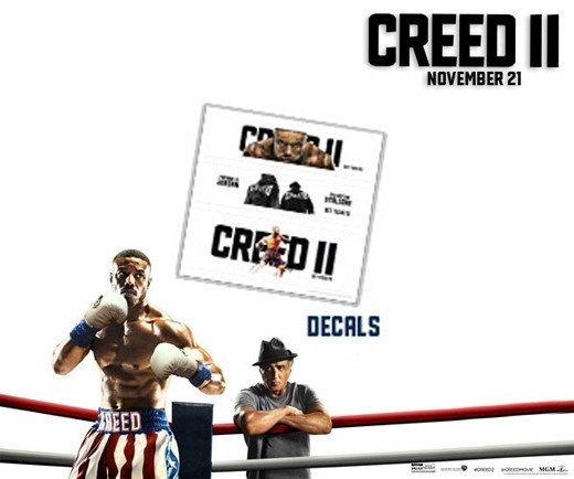 Creed II - Sheet of Decals