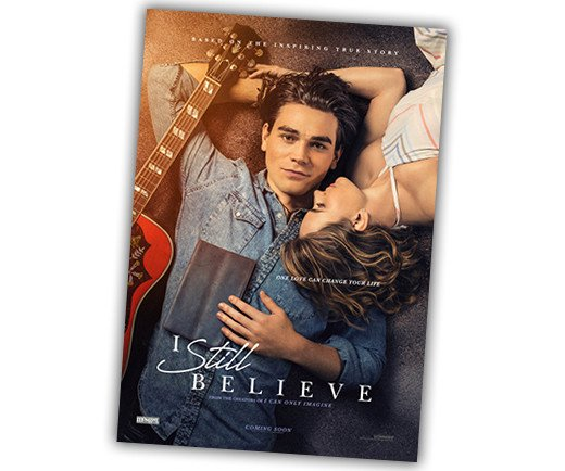 "I Still Believe - 27"" x 40"" Theatrical Poster"