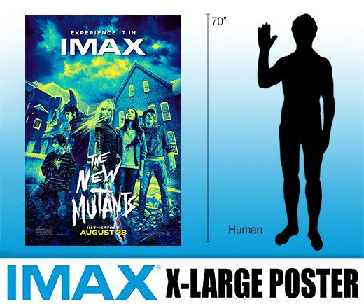 The New Mutants - Extra Large IMAX Poster