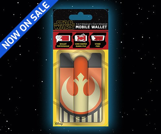 Star Wars: The Rise of Skywalker - 3-in-1 Resistance Mobile Wallet