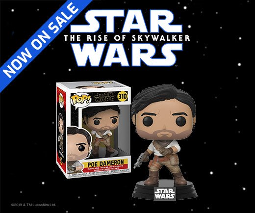 Star Wars: The Rise of Skywalker - Funko Pop! Poe Dameron Figure