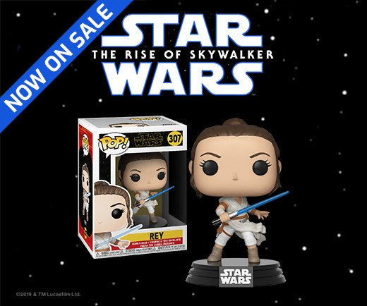 Star Wars: The Rise of Skywalker - Funko Pop! Rey