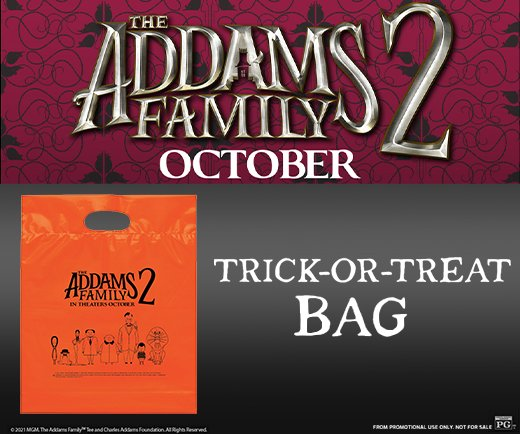 The Addams Family 2- Trick-or-Treat Bag