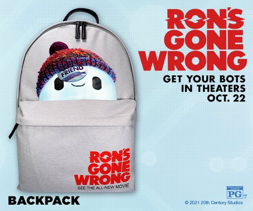 Ron's Gone Wrong - Backpack