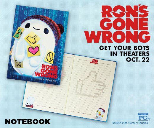 Ron's Gone Wrong - Notebook