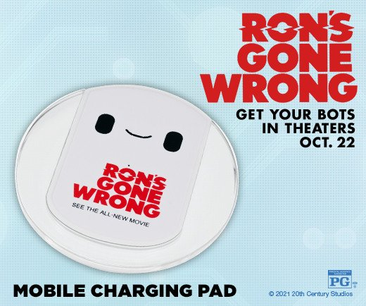Ron's Gone Wrong - Mobile Charging Pad